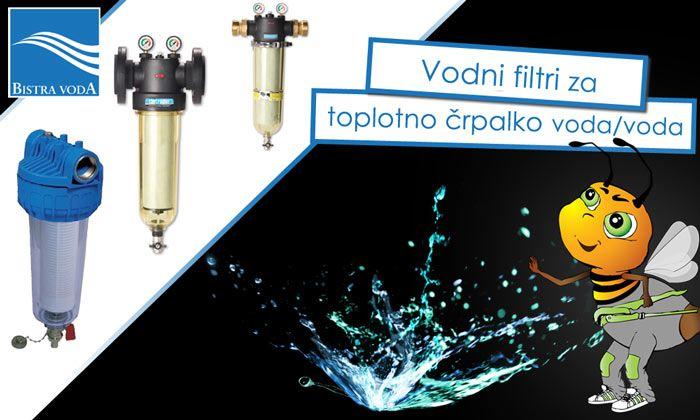 Vodni filtri za toplotno črpalko bistra voda