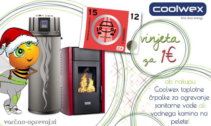 Coolwex novoletna akcija vinjeta za 1€