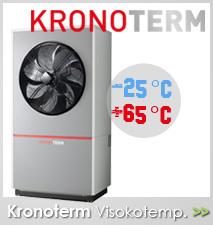Kronoterm visokotemperaturna toplotna črpalka