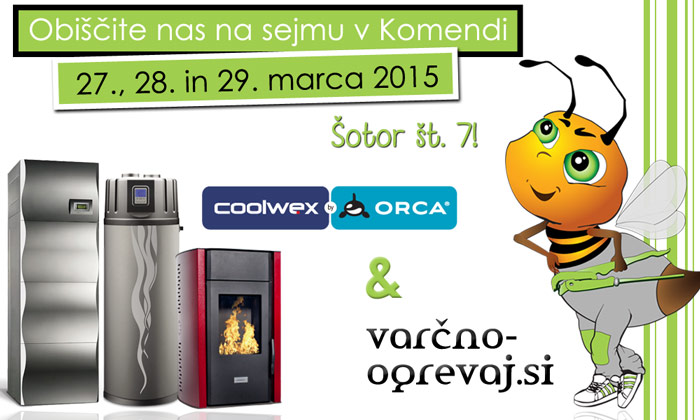 Orca by Coolwex in varčno-ogrevaj.si na Sejmu Komenda 2015