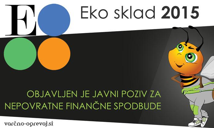 Eko sklad 2015 - subvencije za ogrevalne sisteme