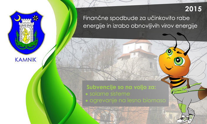 Spodbude za varčno ogrevanja - Občina Kamnik