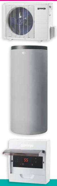 Gorenje Eco Split sanitarna toplotna črpalka