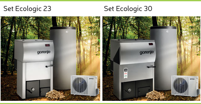 Gorenje set Ecologic 23 in Gorenje set Ecologic 30
