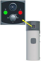 Kronoterm STAR WP2 LF 202B sanitarna toplotna črpalka