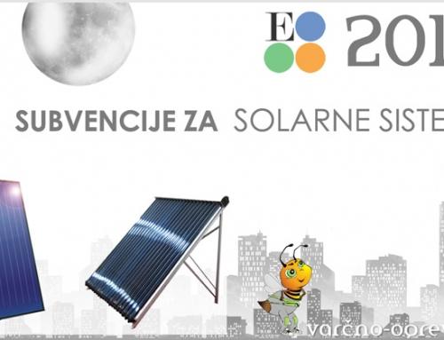 Eko sklad 2016 – Vgradnja solarnega ogrevalnega sistema SSE