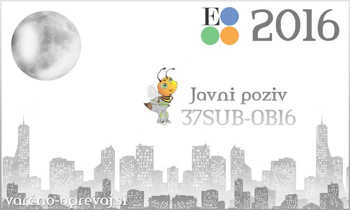 Subvencije Eko sklad 2016 - javni razpis 37SUB-OB16