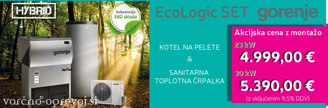 Gorenje Ecologic set