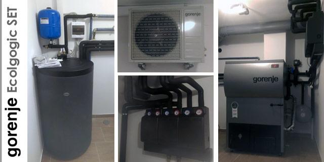 Reference Gorenje Ecologic set - kotel na pelete in sanitarna toplotna črpalka