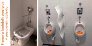 Reference prenova toaletnih prostorov v poslovnem objektu