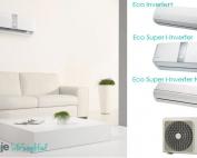Gorenje inverterske klimatske naprave Eco Inverter +, Eco super i-inverter, eco super i-inverter nordica type