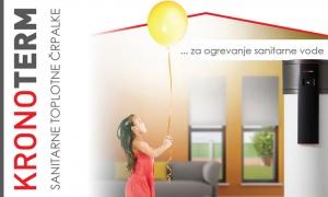 Kronoterm sanitarne toplotne črpalke - nova linija