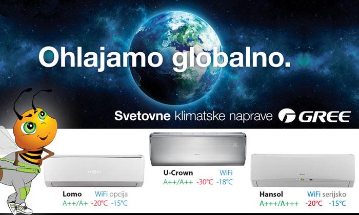 Gree Klimatske naprave - varčno-ogrevaj.si
