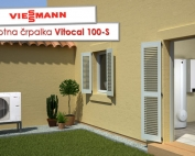 Viessmann Vitocal 100-S toplotna črpalka zrak voda