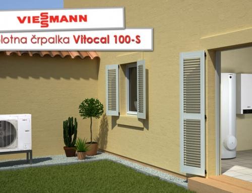 Viessmann Split toplotna črpalka Vitocal 100-S