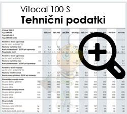 Viessmann Vitocal 100-S tehnični podatki