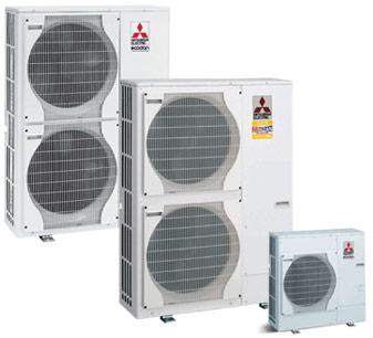 Mitsubishi Electric zunanji enoti Power Inverter in Zubadab
