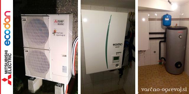 Toplotna črpalka Mitsubishi Electric Ecodan- varčno-ogrevaj.si | Rapport d.o.o.