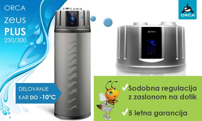 Sanitarna toplotna črpalka Orca Zeus Plus