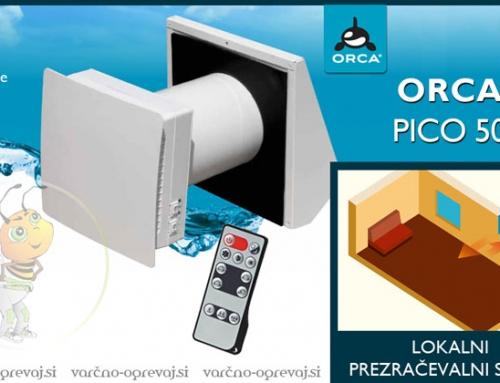 Znebite se plesni z lokalnim prezračevalnim sistemom Orca PICO 50