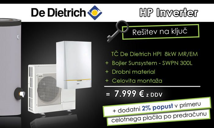 De Dietrich HPI toplotna črpalka