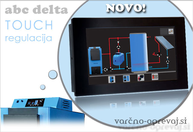 ABC Delta Touch regulacija na dotik