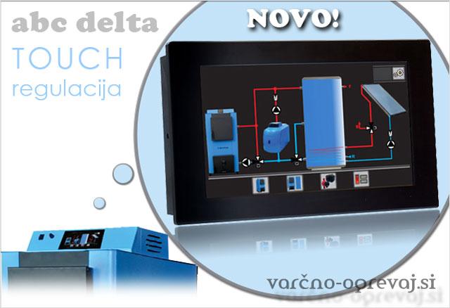 ABC Delta Touch regulacija na dotik