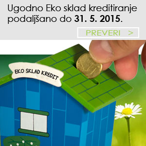 Ugodno eko sklad kreditiranje 2015