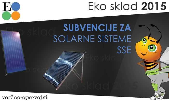 Eko sklad 2015 za solarne sisteme
