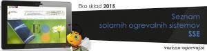 Eko sklad seznam za solarne sisteme SSE