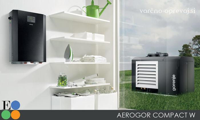 Toplotna črpalka Gorenje Aerogor Compact W