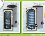 Bojler primeren za toplotno črpalko