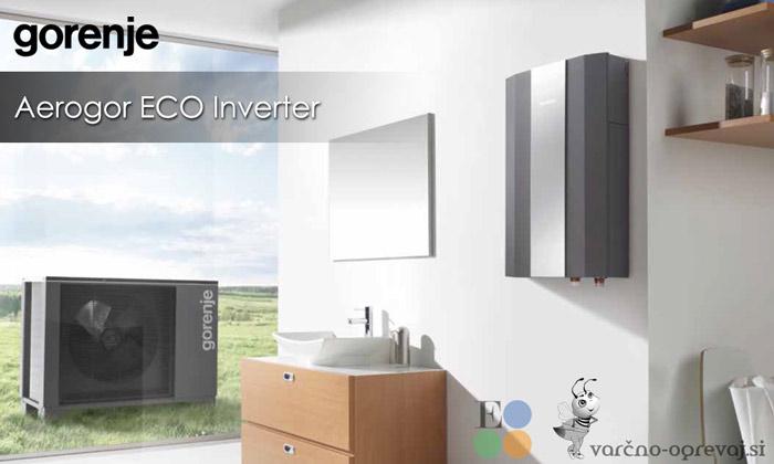 Toplotna črpalka Aerogor Eco Inverter A 10 / A 13