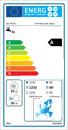 Energijska nalepka: OPTIMA SAN 300/1