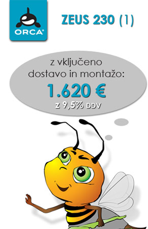Coolwex ZEUS 230 z montažo samo 1.620 €