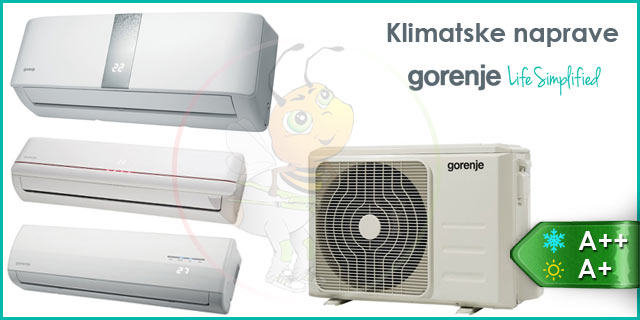 Gorenje klimatske naprave eco inverter
