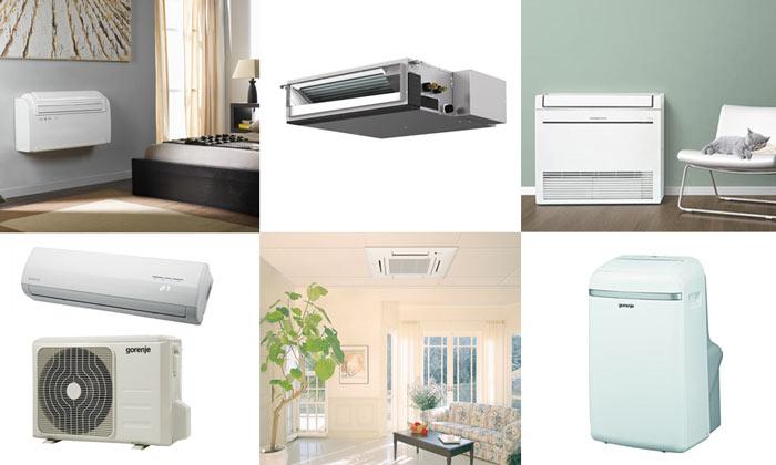 Vrste klimatskih naprav