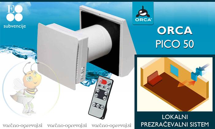 Prezračevalni sistem Orca PICO 50