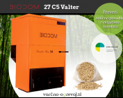 Kotel na pelete Biodom 27 C5 DF34 Valter